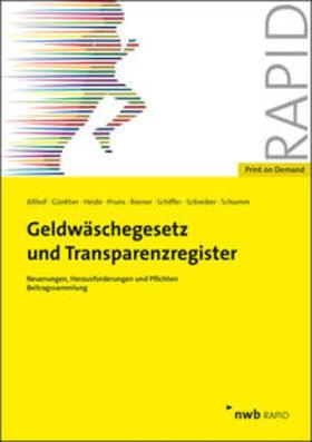 Geldwäschegesetz und Transparenzregister