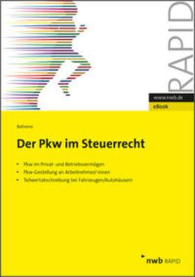 Behrens | Der PKW im Steuerrecht | eBook