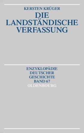 Krüger | Die Landständische Verfassung | Buch
