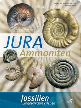 """Fossilien Sonderheft """"Jura-Ammoniten"""""""