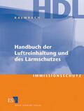 Handbuch der Luftreinhaltung und des Lärmschutzes