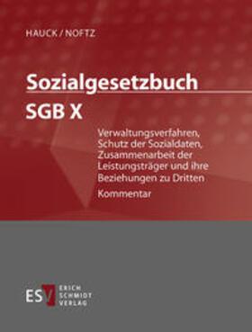 Sozialgesetzbuch (SGB) X: Verwaltungsverfahren, Schutz der Sozialdaten, Zusammenarbeit der Leistungsträger und ihre Beziehung zu Dritten