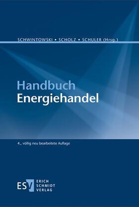 Handbuch Energiehandel