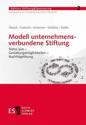 Modell unternehmensverbundene Stiftung