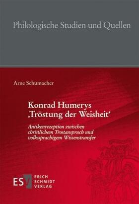 Konrad Humerys 'Tröstung der Weisheit'