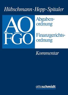 Abgabenordnung - Finanzgerichtsordnung