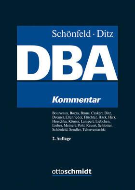 Schönfeld/Ditz | Doppelbesteuerungsabkommen: DBA | Buch