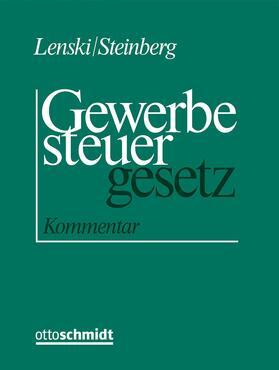 Lenski / Steinberg   Kommentar zum Gewerbesteuergesetz, mit Fortsetzungsbezug   Loseblattwerk