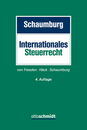 Schaumburg | Internationales Steuerrecht | Buch