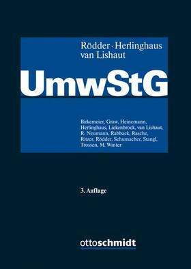 Rödder / Herlinghaus / van Lishaut | Umwandlungssteuergesetz: UmwStG | Buch