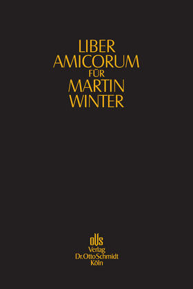 Liber amicorum für Martin Winter