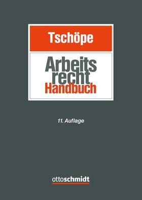 Tschöpe | Arbeitsrecht Handbuch | Buch