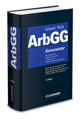Schwab / Weth / Sorge   Arbeitsgerichtsgesetz   Buch