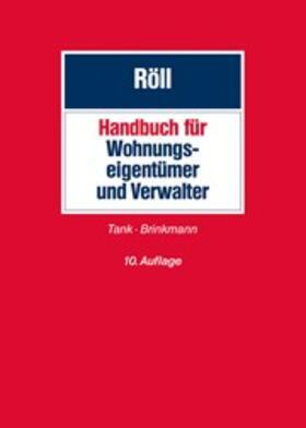 Röll | Handbuch für Wohnungseigentümer und Verwalter | Buch