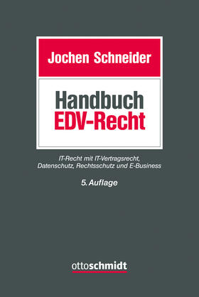 Schneider | Handbuch EDV-Recht | Buch