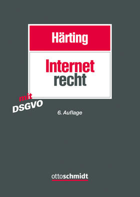Härting   Internetrecht   Buch