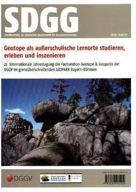 Geotope als außerschulische Lernorte studieren, erleben und inszenieren.