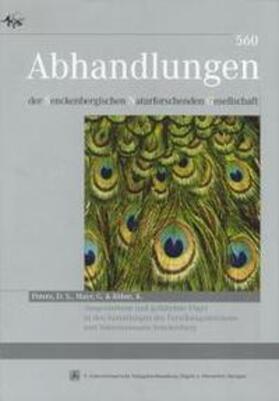 Ausgestorbene und gefährdete Vögel in den Sammlungen des Forschungsinstitutes und Naturmuseums Senckenberg. Ernst Mayr zum hundertsten Geburtstag gewidmet