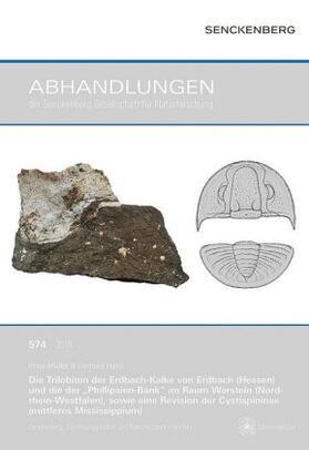 """Die Trilobiten der Erdbach-Kalke von Erdbach (Hessen) und die der """"Phillipsien-Bank"""" im Raum Warstein (Nordrhein-Westfalen), sowie eine Revision der Cystispininae (mittleres Mississippium)"""