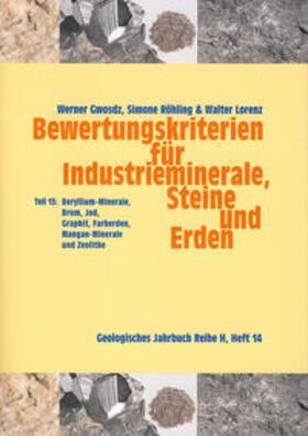 Bewertungskriterien für Industrieminerale, Steine und Erden