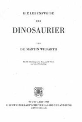 Die Lebensweise der Dinosaurier