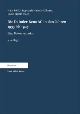 Die Daimler-Benz AG in den Jahren 1933 bis 1945