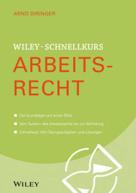 Diringer | Wiley-Schnellkurs Arbeitsrecht | Buch