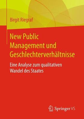 New Public Management und Geschlechterverhältnisse