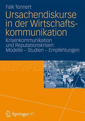 Ursachendiskurse in der Wirtschaftskommunikation