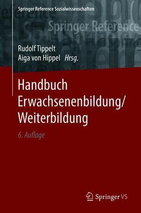 Tippelt / von Hippel | Handbuch Erwachsenenbildung/Weiterbildung | Buch