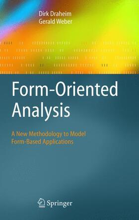 Draheim / Weber | Form-Oriented Analysis | Buch