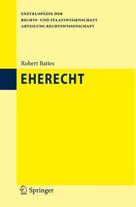Battes | Eherecht | Buch