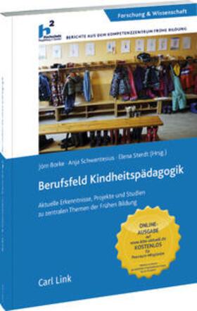 Borke / Schwentesius / Sterdt | Berufsfeld Kindheitspädagogik | Buch