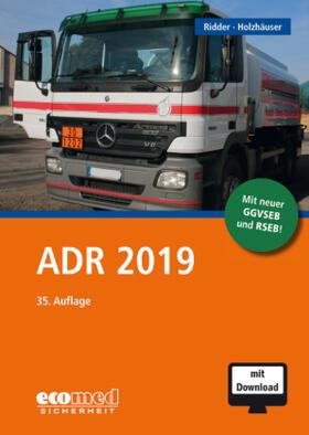 ADR 2019, m. 1 Buch, m. 1 Online-Zugang