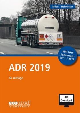 Ridder / Holzhäuser | ADR 2019 | Buch