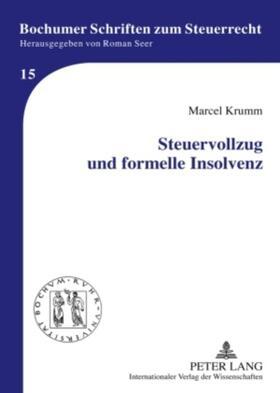 Steuervollzug und formelle Insolvenz