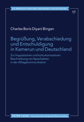 Begrüßung, Verabschiedung und Entschuldigung in Kamerun und Deutschland