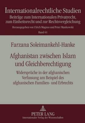 Afghanistan zwischen Islam und Gleichberechtigung