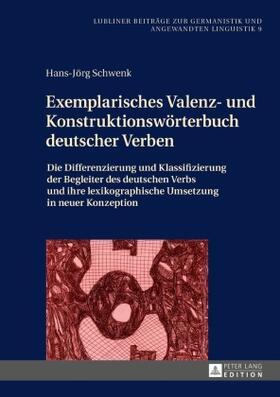 Exemplarisches Valenz- und Konstruktionswörterbuch deutscher Verben