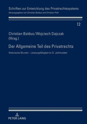 Der Allgemeine Teil des Privatrechts