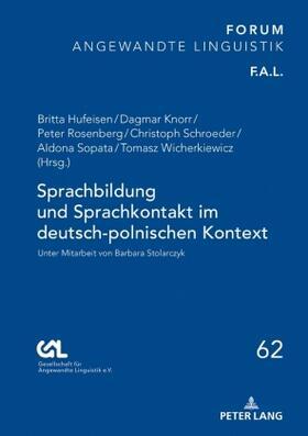 Sprachbildung und Sprachkontakt im deutsch-polnischen Kontext