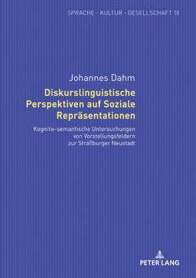 Diskurslinguistische Perspektiven auf Soziale Repräsentationen