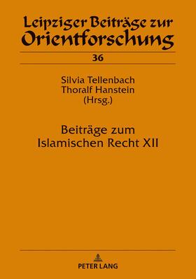 Beiträge zum Islamischen Recht XII