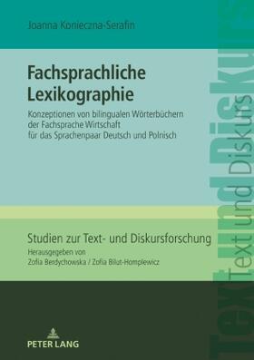 Fachsprachliche Lexikographie
