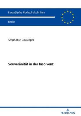 Souveränität in der Insolvenz