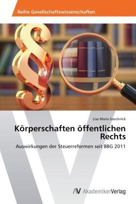 Soecknick | Körperschaften öffentlichen Rechts | Buch