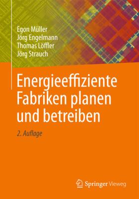 Müller / Engelmann / Löffler   Energieeffiziente Fabriken planen und betreiben   Buch