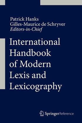 International Handbook of Modern Lexis and Lexicography