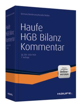 Bertram/Brinkmann/Kessler | Haufe HGB Bilanz-Kommentar | Buch