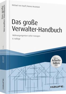 Hauff/Musielack | Das große Verwalter-Handbuch - inkl. Arbeitshilfen online | Buch